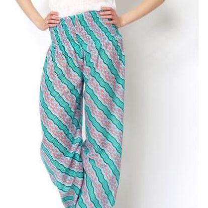 Úžasné vzorované harémové kalhoty!