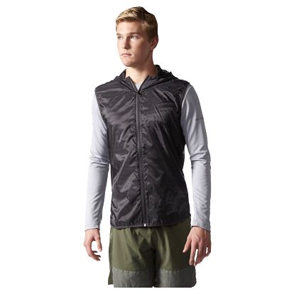 Pánská sportovní vesta adidas Supernova TKO Flock Print Vest Mens L