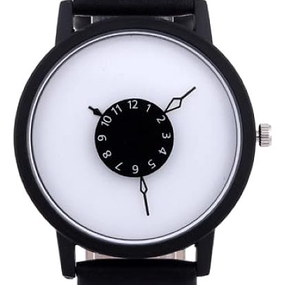 Dámské designové hodinky se stylovým ciferníkem - 3 barvy