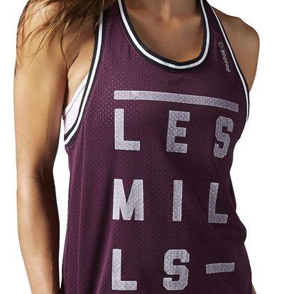 Dámské sportovní tílko Reebok Les Mills W Bball Tank L