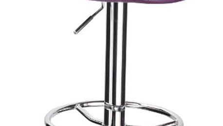 Signal Barová židle C-300 fialová