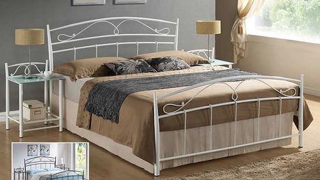 Signal Kovová postel SIENA 160x200 cm