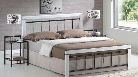 Signal Kovová postel BERLIN 160x200 cm