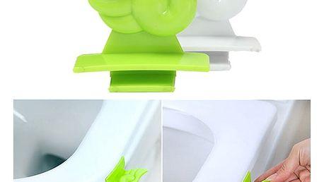 Pomůcka ke zvedání záchodového prkénka - zelená - dodání do 2 dnů