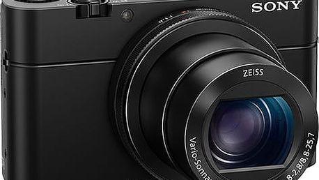 Sony Cybershot DSC-RX100M4, černá - DSCRX100M4.CE3