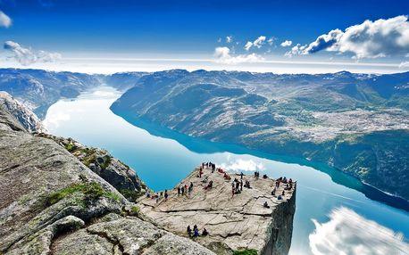 Velký okruh Norskem: fjordy, ledovce i města