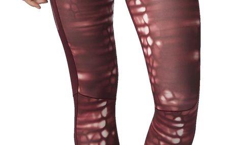 Dámské běžecké kalhoty adidas Supernova Long Tight Q1 Print W M