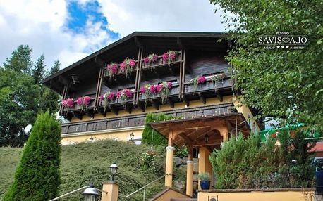 Alpy v českém penzionu se snídaní a saunou