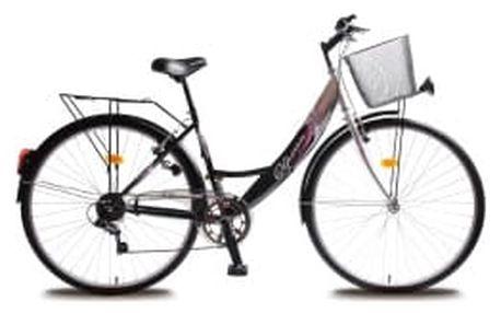"""OLPRAN Mercury Lux 28"""" 2016 šedo-černé crossové kolo"""