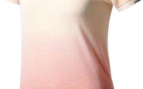 Dámské běžecké tričko adidas Primeknit Wool SH Sleeve Tee Dip Dye Women M