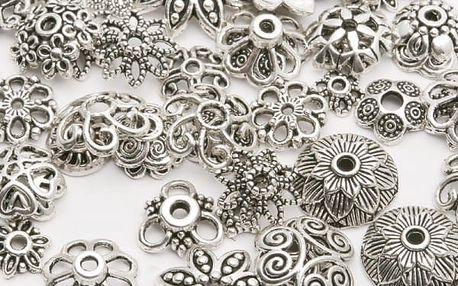 Ozdobné předměty na výrobu šperků - 150 ks