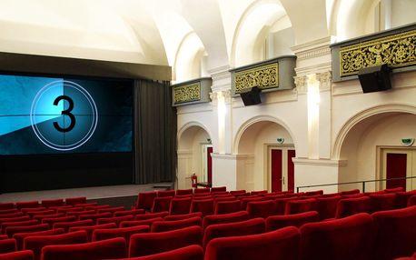 Roční členství v kině Ponrepo a 3 vstupenky