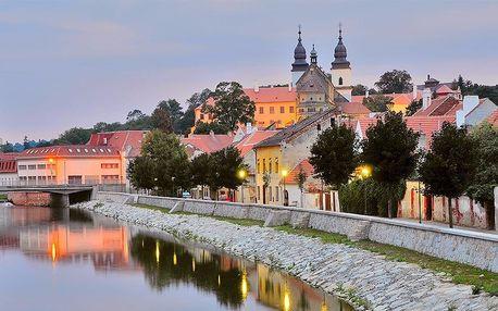 Odpočinek v Třebíči s aquaparkem i památkami