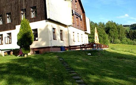 3denní pobyt v penzionu Orličan s polopenzí, káva, desert. Super vyžití pro rodiny s dětmi aj.