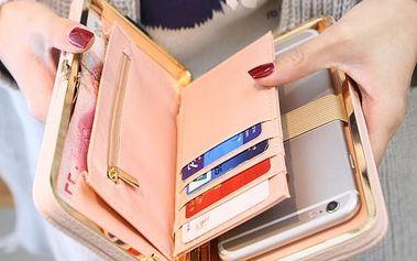 Psaníčko ve stylu peněženky - 7 barev