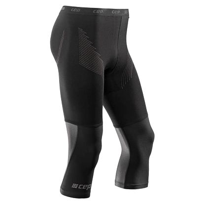 CEP 3/4 sportovní kalhoty BASE pánské černá IV