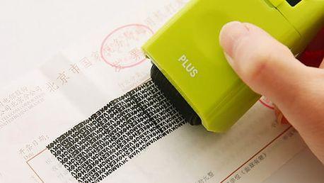 Razítko na ochranu identity