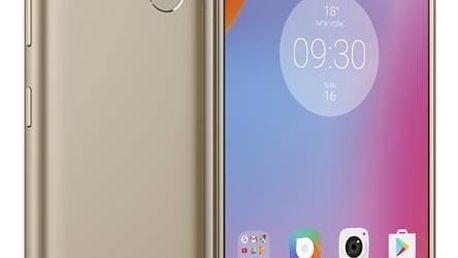 Mobilní telefon Lenovo K6 Note Dual SIM (PA570051CZ) zlatý SIM s kreditem T-Mobile 200Kč Twist Online Internet (zdarma)Software F-Secure SAFE 6 měsíců pro 3 zařízení (zdarma) + Doprava zdarma