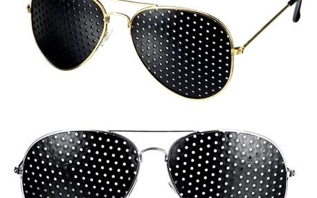 Děrované brýle pro zlepšení zraku - 2 barvy