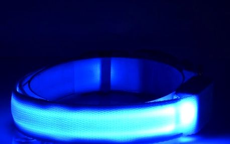 Svítící LED obojek pro pejsky - 7 variant