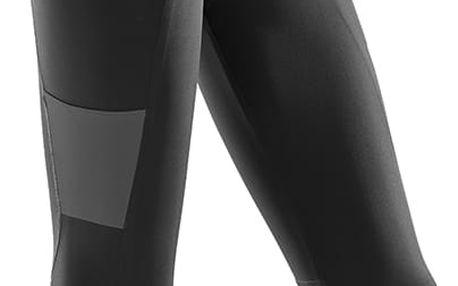 CEP 3/4 sportovní kalhoty performance dámské černá IV