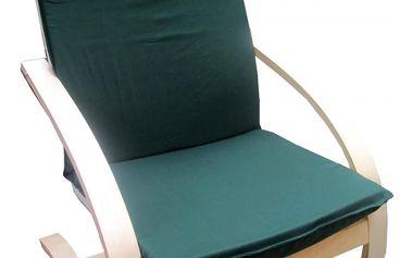 Relaxační křeslo - zelené