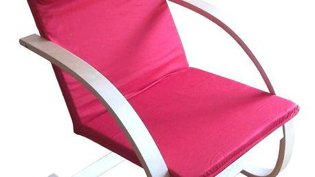 Relaxační křeslo - červené