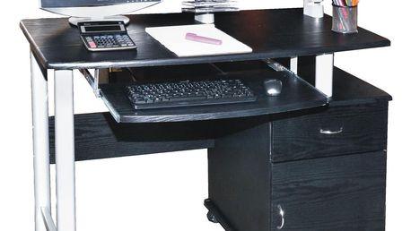 PC stolek 2631 - černá