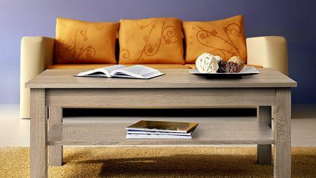 Konferenční stolek UNI, dub sonoma