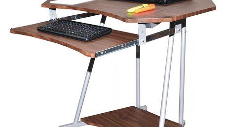 PC stolek 2612 - tmavý ořech