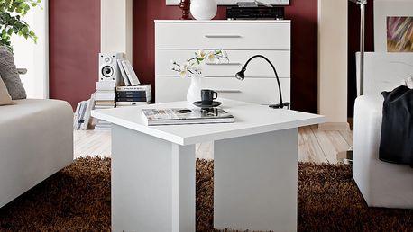 Konferenční stolek PIKO, bílá