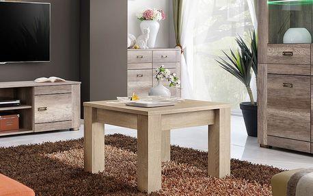 Konferenční stolek QUBE, dub sonoma