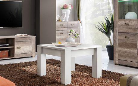 Konferenční stolek QUBE, bílá