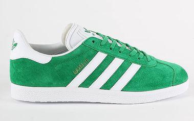 Boty adidas Originals GAZELLE 45 1/3 Zelená + DOPRAVA ZDARMA