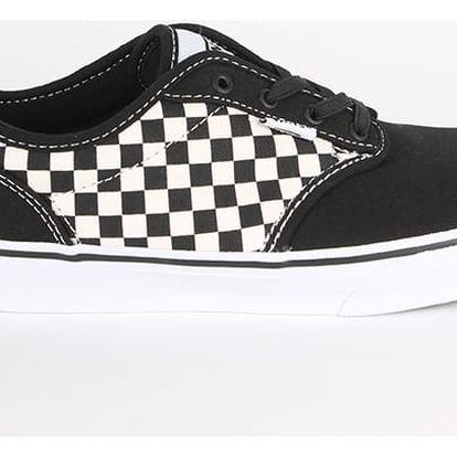 Boty Vans YT Atwood Slip-On (Checkers) Blac 36 Černá + DOPRAVA ZDARMA