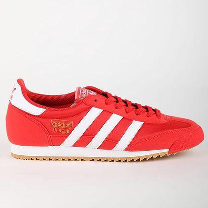 Boty adidas Originals DRAGON OG 45 1/3 Červená + DOPRAVA ZDARMA