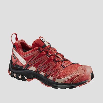Boty Salomon XA PRO 3D GTX® W Poppy Red/BK/Living Cor 40 2/3 Červená + DOPRAVA ZDARMA