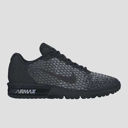Boty Nike AIR MAX SEQUENT 2 44 Černá + DOPRAVA ZDARMA