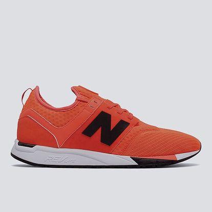 Boty New Balance MRL247OR 45 Oranžová + DOPRAVA ZDARMA