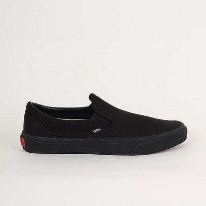 Boty Vans UA CLASSIC SLIP-ON Black/Black 44 Černá + DOPRAVA ZDARMA