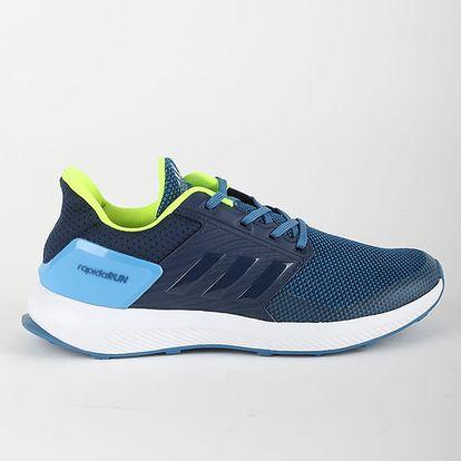 Boty adidas Performance RapidaRun K 35,5 Modrá + DOPRAVA ZDARMA
