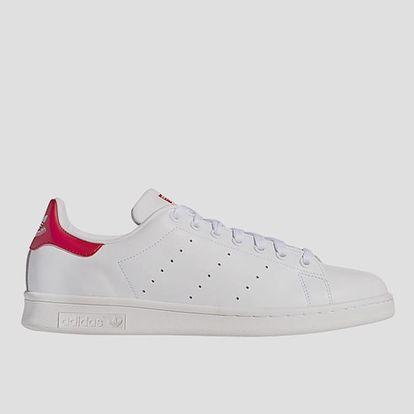 Boty adidas Originals STAN SMITH 46 Červená + DOPRAVA ZDARMA