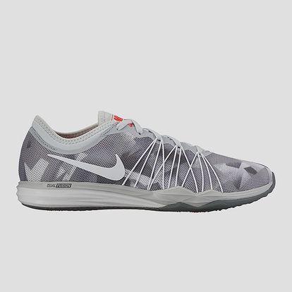 Boty Nike W DUAL FUSION TR HIT PRNT 40,5 Šedá + DOPRAVA ZDARMA