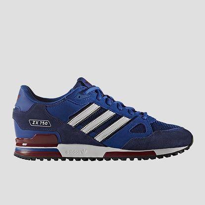 Boty adidas Originals ZX 750 46 2/3 Modrá + DOPRAVA ZDARMA