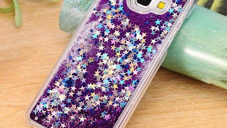 Dynamické pouzdro s pískem a hvězdičkami pro mobilní telefony samsung