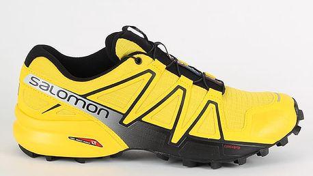 Boty Salomon SPEEDCROSS 4 Empire Yellow/BLACK/BLACK 45 1/3 Žlutá + DOPRAVA ZDARMA