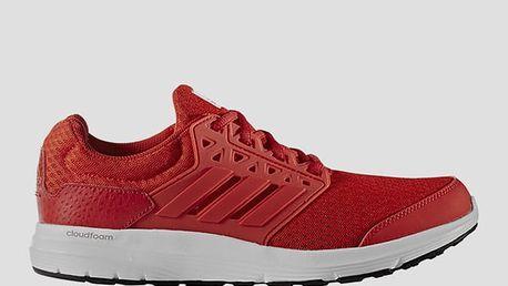 Boty adidas Performance galaxy 3 m 45 1/3 Červená + DOPRAVA ZDARMA