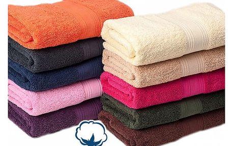 Froté ručník z egyptské bavlny - nadýchané, jemné a hebké na dotek! - VÝPRODEJ