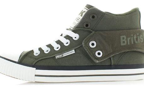 Pánské tmavě zelené tenisky BK Roco