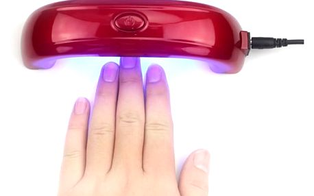 Mini UV lampa na gelové nehty